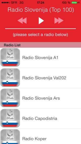 Radio Slovenija Top 100 : Novice Glasba Soccer Rezultati 24 24 Slovenia - SI