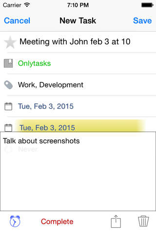 Onlytasks 2 screenshot 2