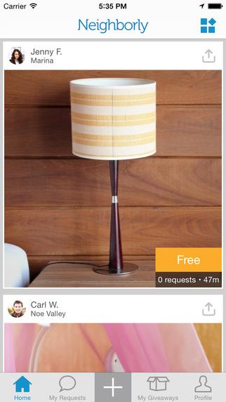 【免費生活App】Neighborly - Connect with your neighbors to get and give free stuff-APP點子