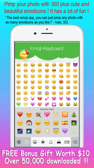 Pimp Your Photo With Emoji - Make Up Photo with Emoticons