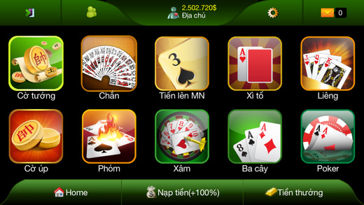 BigKool - Tiến Lên Miền Nam Online VN Thirteen TLMN Holla Pusoy Black Jack Three Cards Chiness Chess