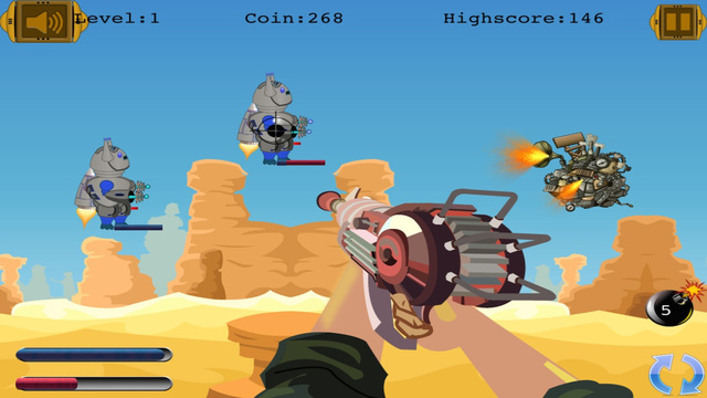 Space Guardians of Time: Robot Cowboys Shooter- Pro