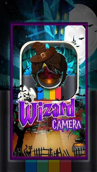 CamCCM - Wizard of Magic Sticker Camera Fashion Photo Booth Dress Up