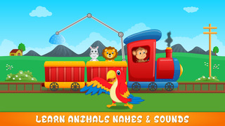 Zoo Animals Train - fun game for preschool kids who love Trains Trucks and Things That Go