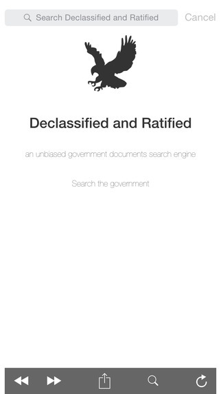 Declassified and Ratified Search