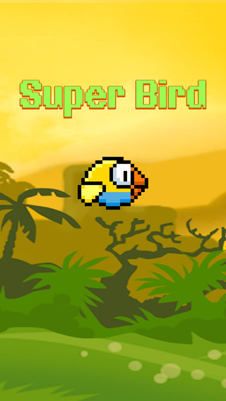 Flappy Super Bird : Mission Impossible
