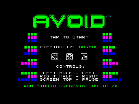 Avoid ZX Screenshots