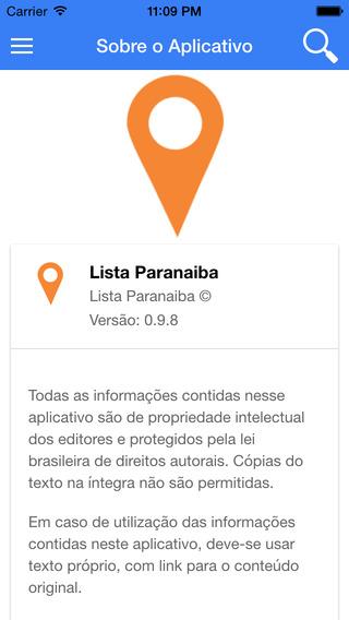 Lista Paranaíba