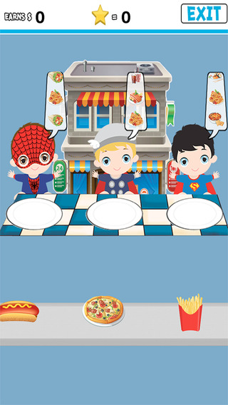 Cooking Restaurants Game For Kids Baby Super Heroes Edition Unofficial