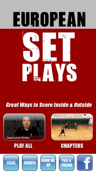 European Set Plays: International Championship Offense - With Coach Lason Perkins - Full Court Baske