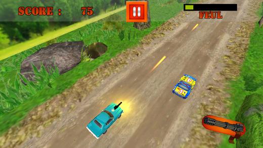 Off-Road Rally Car Crime Shoot-er