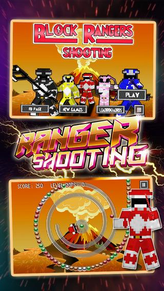 "Block 5 Colors Rangers Shooting - "" Power Superhero Edition """