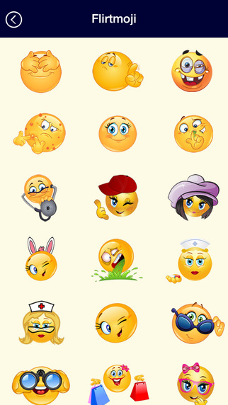 Flirty Emojis Emoticons Keyboard for iMessage WhatsApp SMS Facebook Messenger Texting