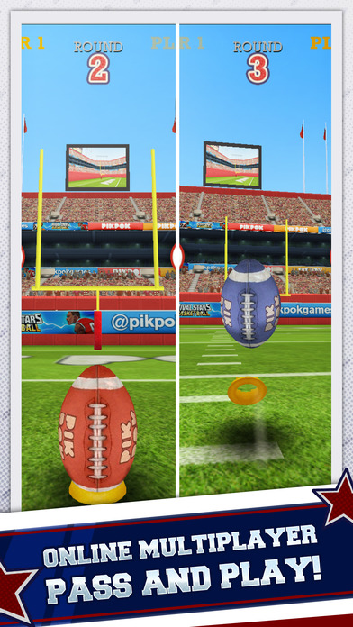 Flick Kick Field Goal Kickoff iPhone Screenshot 3