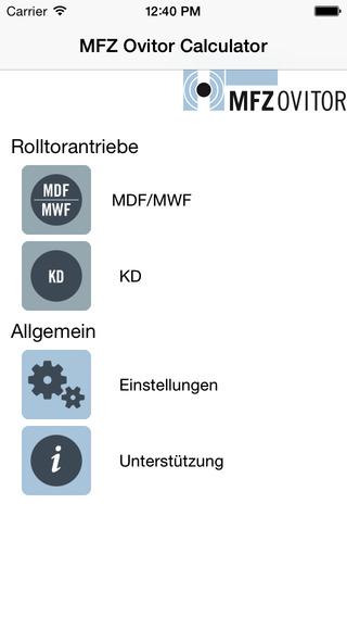 MFZ Ovitor Calculator
