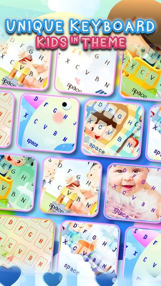 KeyCCM – Kids : Custom Color Wallpaper Keyboard For Boys Girls Theme
