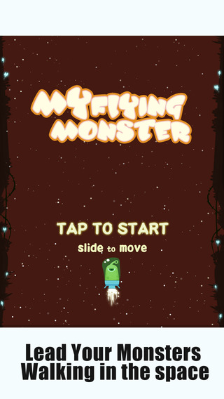 My Flying Monster - Don't Touch The Galaxy Obstacle