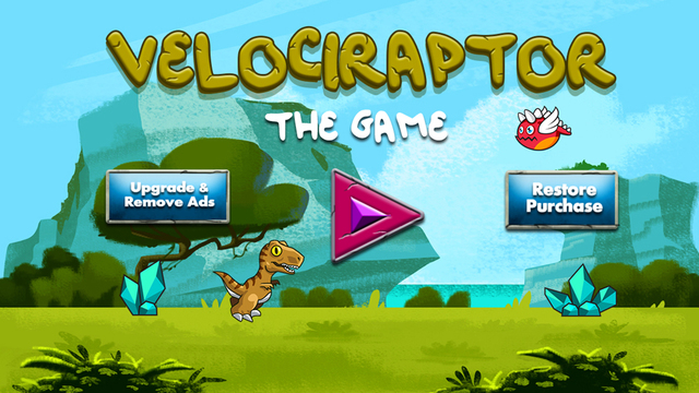 Velociraptor The Game - Endless Run Arcade Fun