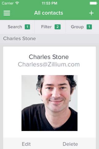 Zoho AppBox screenshot 2