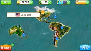 Screenshots of Fishing Kings Free+ for iPhone