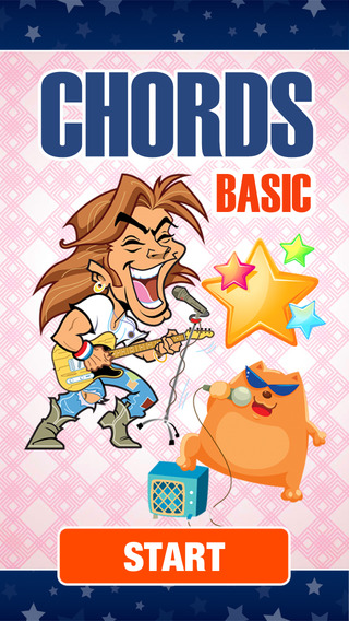 Guitar Chords Game for Beginners - Learn to play music rock jazz blues solo with acoustic or electri