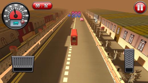 London Bus Traffic Race 3D Deluxe