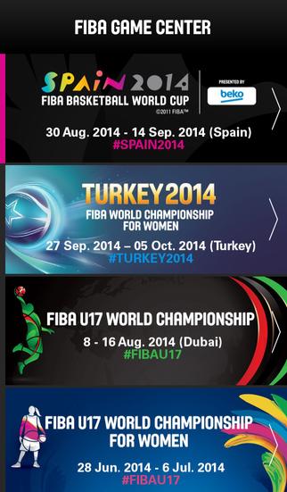 Game Center FIBA