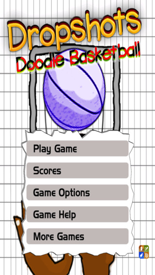 Dropshots: Doodle Basketball Throw Free
