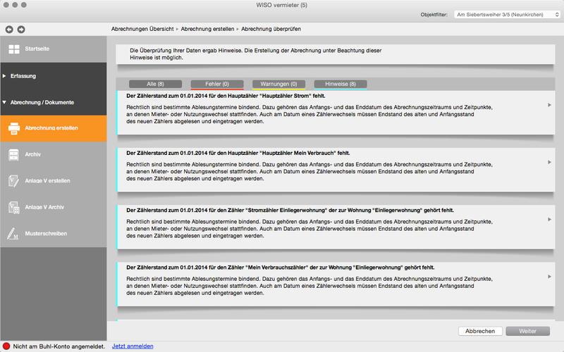 WISO vermieter Screenshot - 4