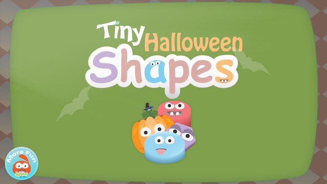 Tiny Halloween Shapes - Puzzel Activities For Toddlers