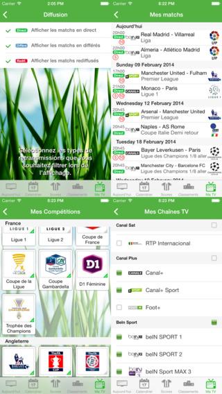Foot TV Lite iPhone Screenshot 3