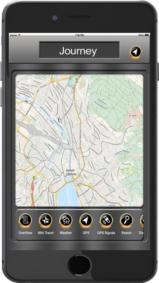 Sydney_Australia Offline maps Navigation