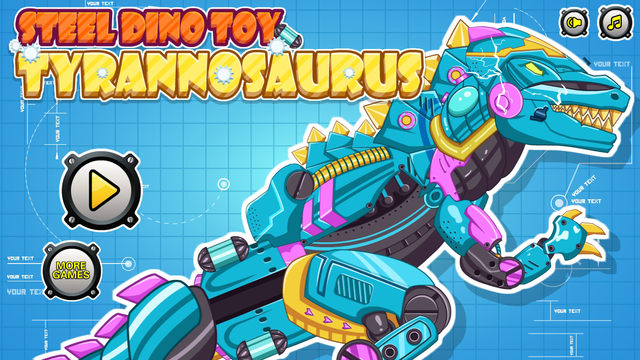 Steel Dino Toy: Mechanic Tyrannosaurus