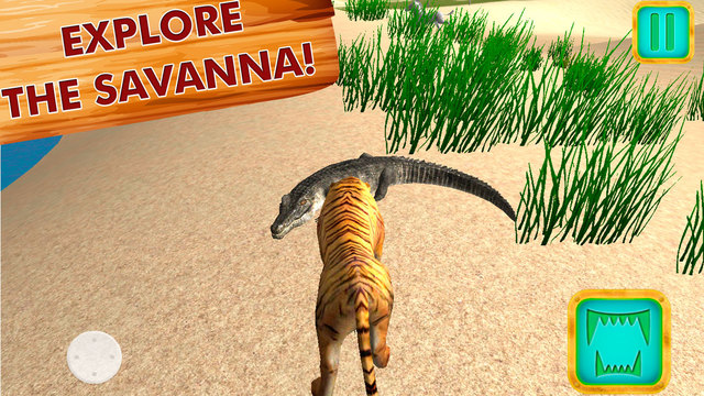 Safari Wildlife: Tiger Simulator 3D Full Screenshots