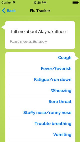Flu Illness Tracker