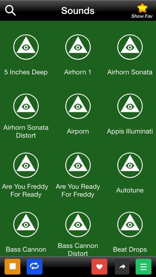 Sound for illuminati and MLG
