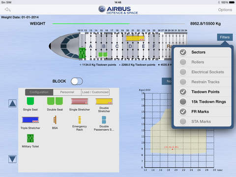 Airbus DS Weight Balance