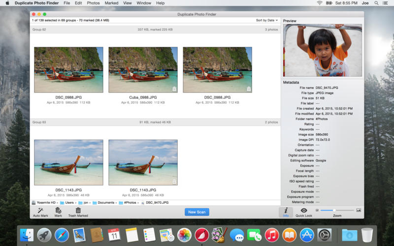 Duplicate Photo Finder Screenshot - 1