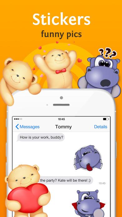 Richmoji - emoji keyboard for chating, texting,sms Screenshots