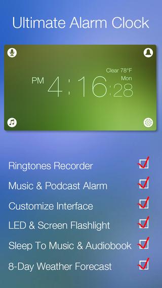 Daily Clock: Ringtone Recorder