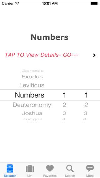 HolyBible K.J.V. Pro iPhone Screenshot 4