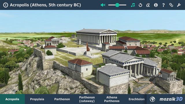 Acropolis Interactive 3D