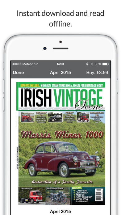 Irish Vintage Scene