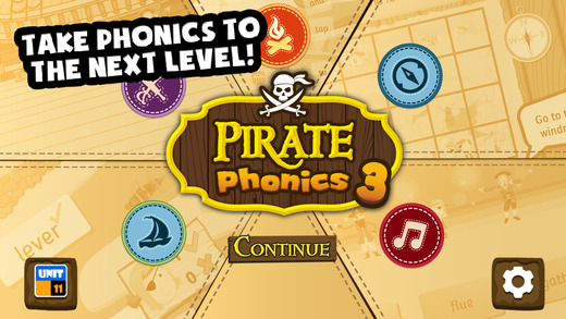 Pirate Phonics 3 : Kids learn to read
