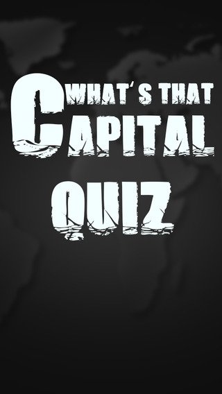 What's That Capital Quiz