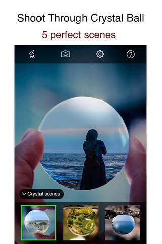 iPixelCamera - Powerful Camera with Old Films, Fisheye Lens, Crystal Scenes and Color Flashlights - appPicker