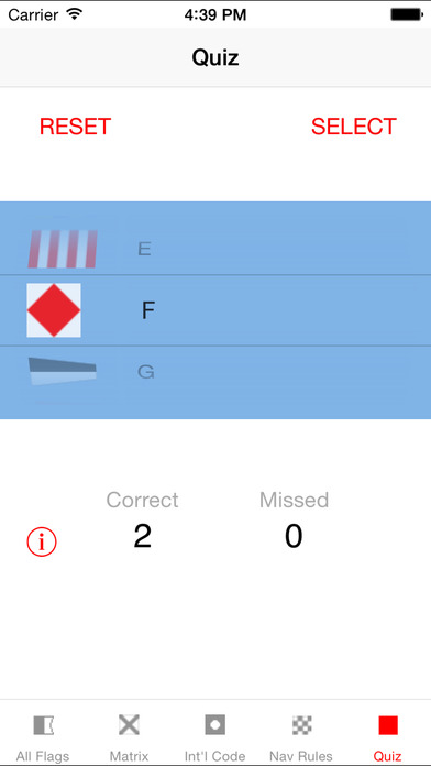 Signal Flags iPhone Screenshot 3