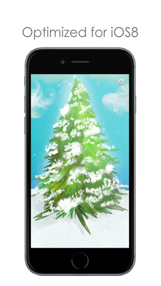 Traditional Christmas Songs - Classic Christmas Tree with Snow Effect and Popular Holiday Music: Sil