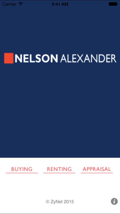 Nelson Alexander Real Estate iPhone Screenshot 1