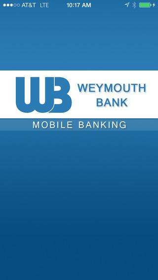 Weymouth Bank Mobile Banking
